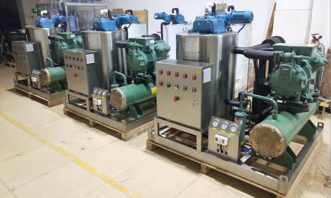 sea water scale ice machine