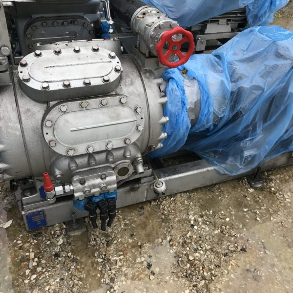 Sabroe freon compressor